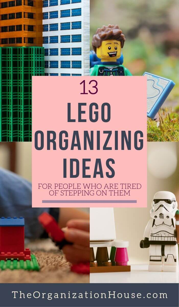 13 LEGO Organizing Ideas for People Who are Tired of Stepping on Them - TheOrganizationHouse.com