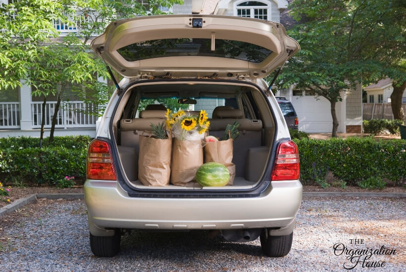 Car Organization Ideas That Work - TheOrganizationHouse.com