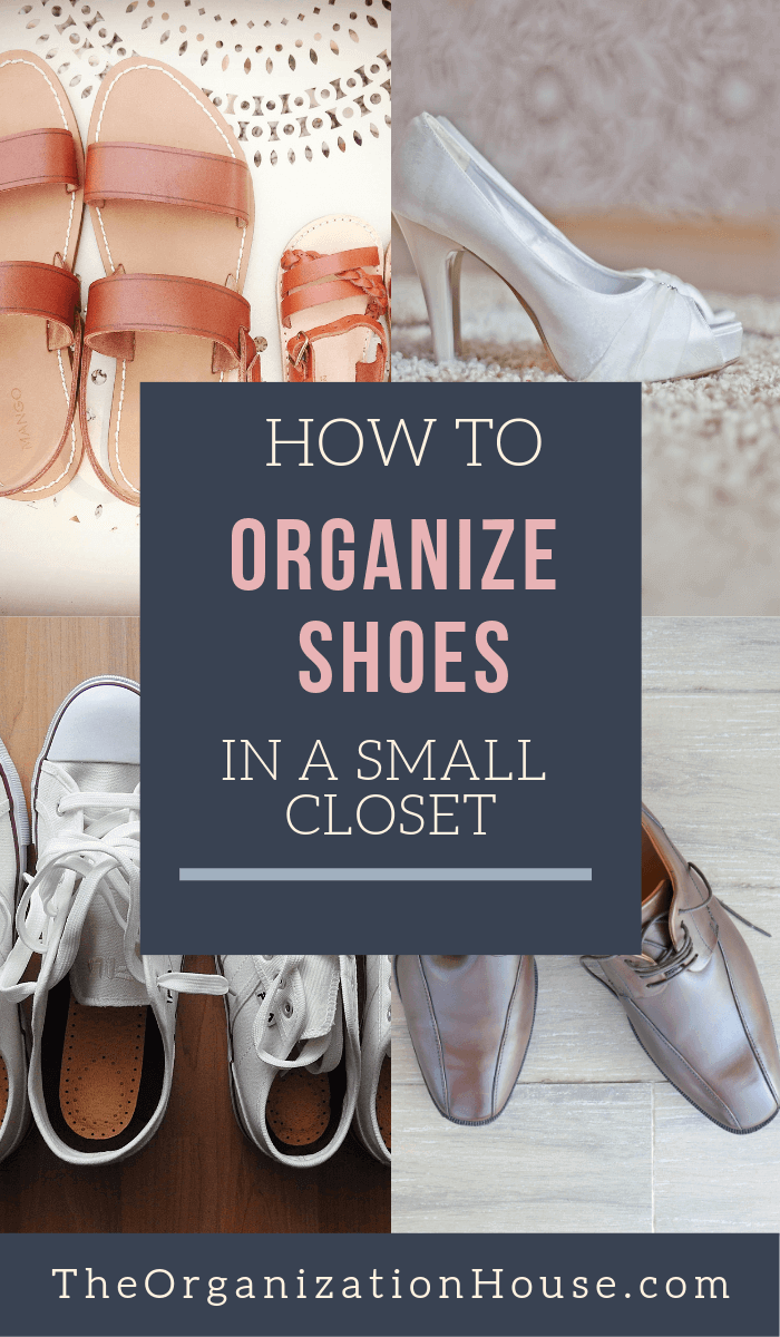 How to Organize Shoes in a Small Closet Neatly