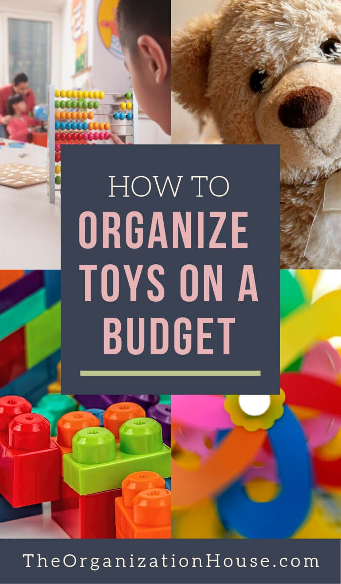 How to Organize Toys on a Budget - TheOrganizationHouse.com #organizing #toys #storage