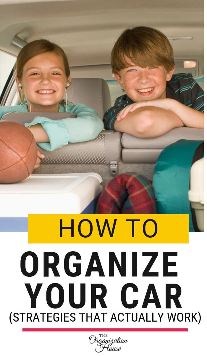How to Organize Your Car - Strategies that Actually Work - TheOrganizationHouse.com