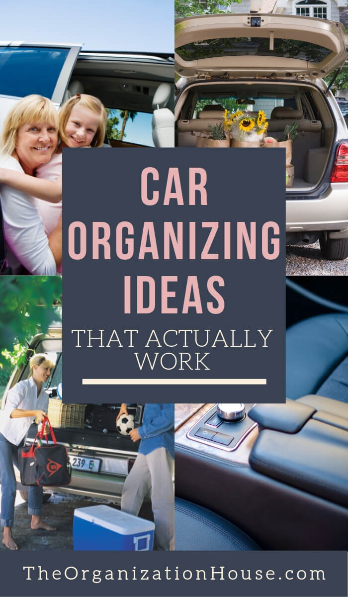 How to Organize Your Car - Tips That Help Keep Your Car Clean - TheOrganizationHouse.com
