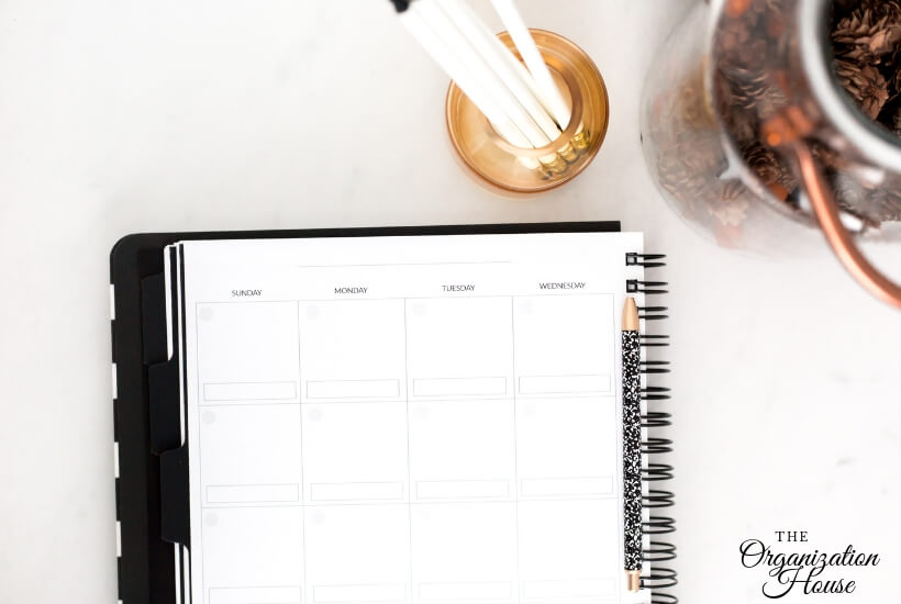 How to Use Your Planner to Take Back Control of Your Life - TheOrganizationHouse.com