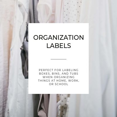 ORGANIZATION LABELS