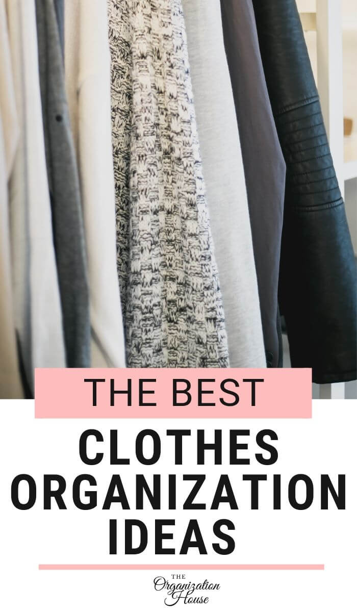 The Best Clothes Organization Ideas for People with a lot of Clothes - TheOrganizationHouse.com