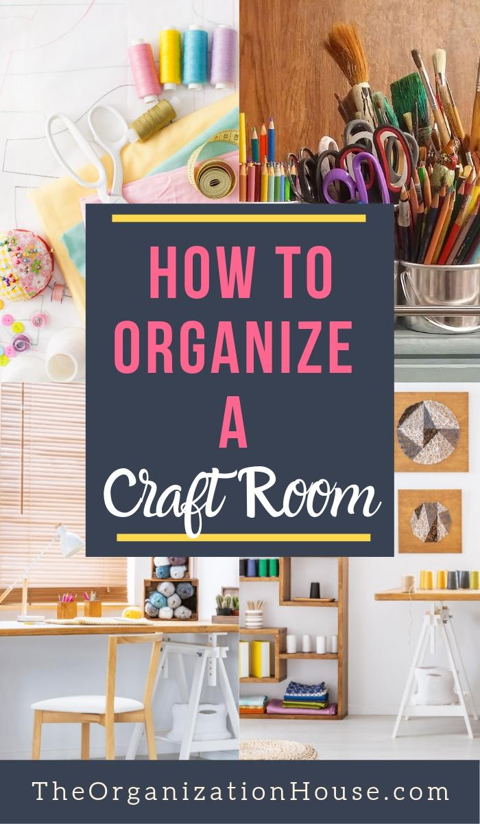Craft Room Ideas - How to Organize a Craft Room - TheOrganizationHouse.com