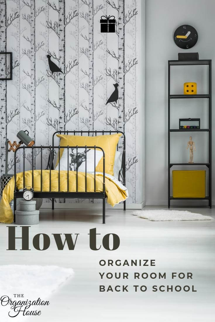 How to Organize Your Bedroom for Back to School Success - The Organization House - TheOrganizationHouse.com
