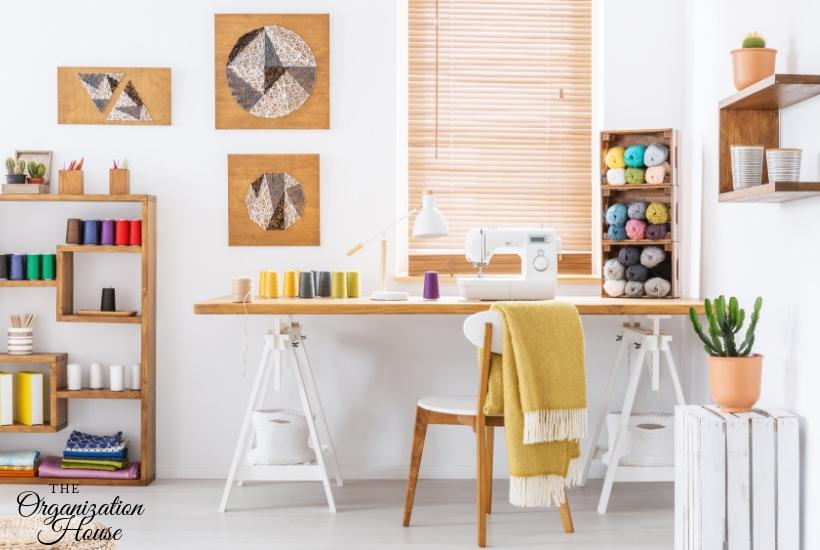 How to Organize a Craft Room - TheOrganizationHouse.com
