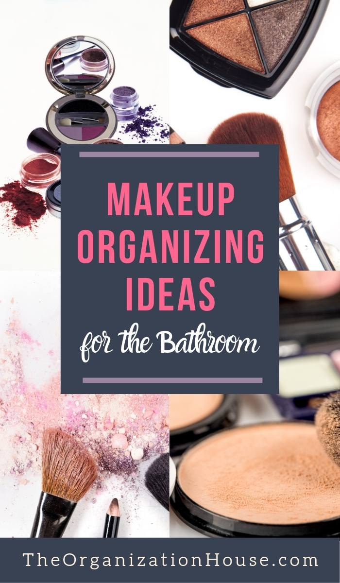 Makeup Organizing Ideas for the Bathroom - TheOrganizationHouse.com
