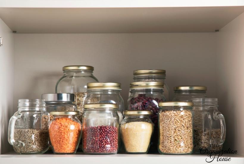 How to Organize a Pantry with Deep Shelves - TheOrganizationHouse.com