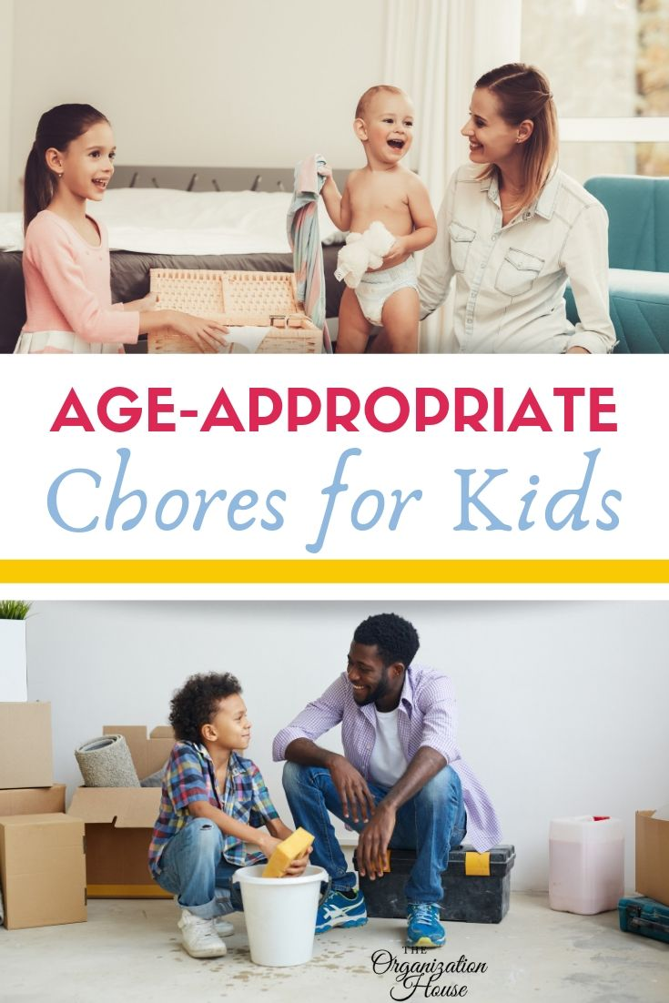 Age-Appropriate Chores for Kids - TheOrganizationHouse.com