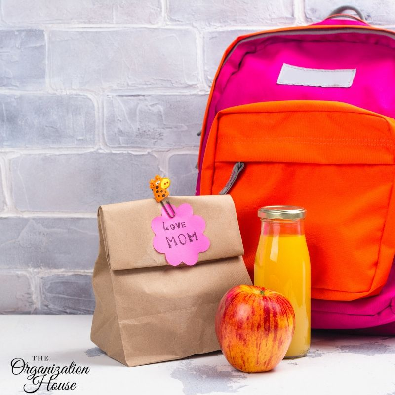 Back to School Organization Ideas That Create Routines - TheOrganizationHouse.com