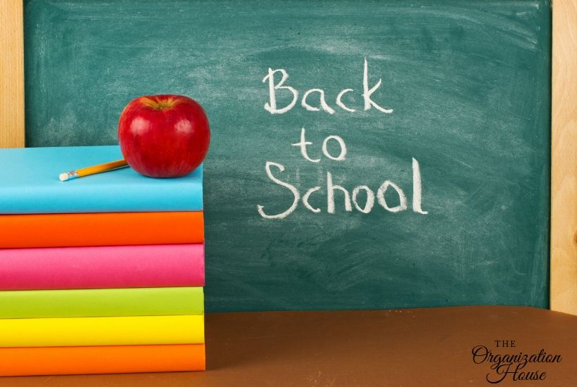 Back to School Organization Tips - TheOrganizationHouse.com