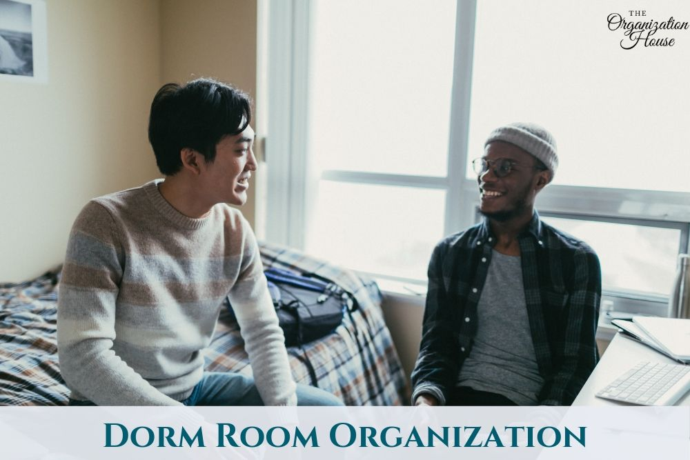 Dorm Room Organization - TheOrganizationHouse.com