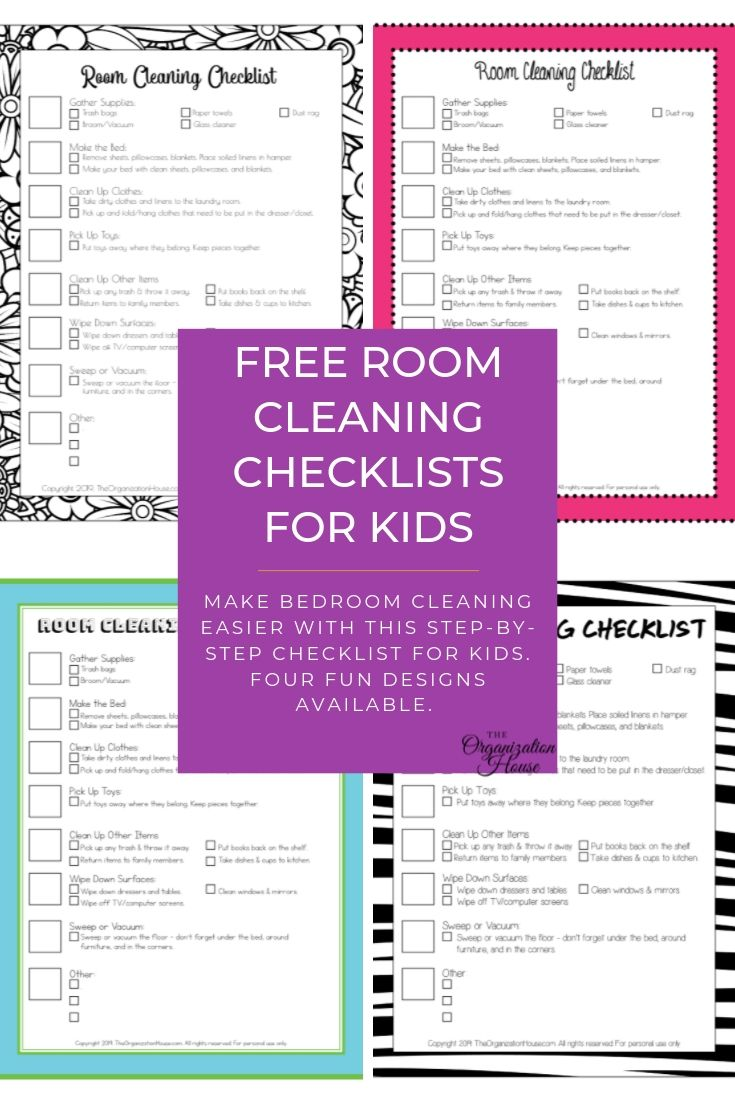 How To Clean Your Room A Kid S 7 Step Guide To Cleaning,Sage Plant In Spanish