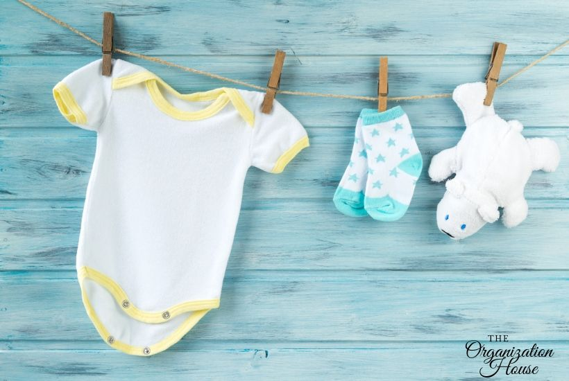 How to Organize Baby Clothes When There Are So Many - TheOrganizationHouse.com