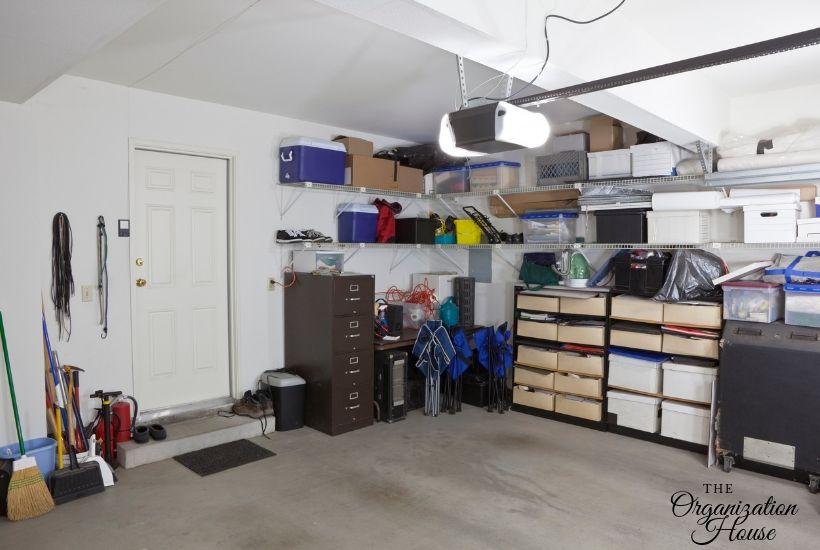 How to Organize a Garage - TheOrganizationHouse.com