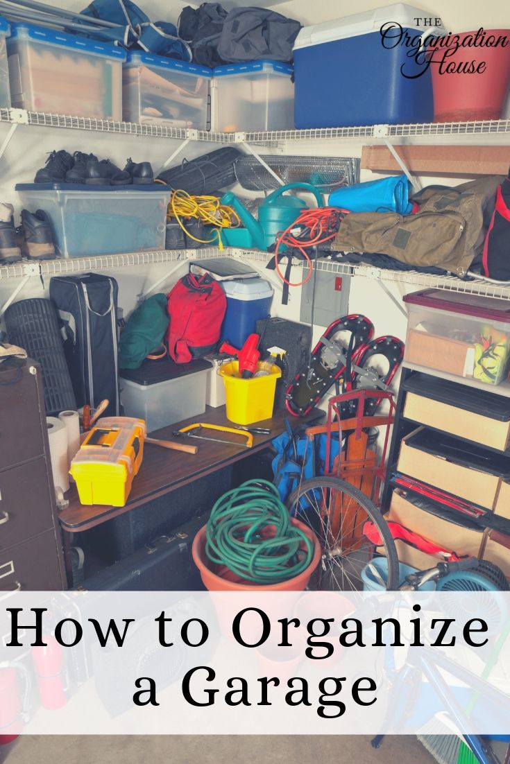 Tips for Organizing a Garage - TheOrganizationHouse.com