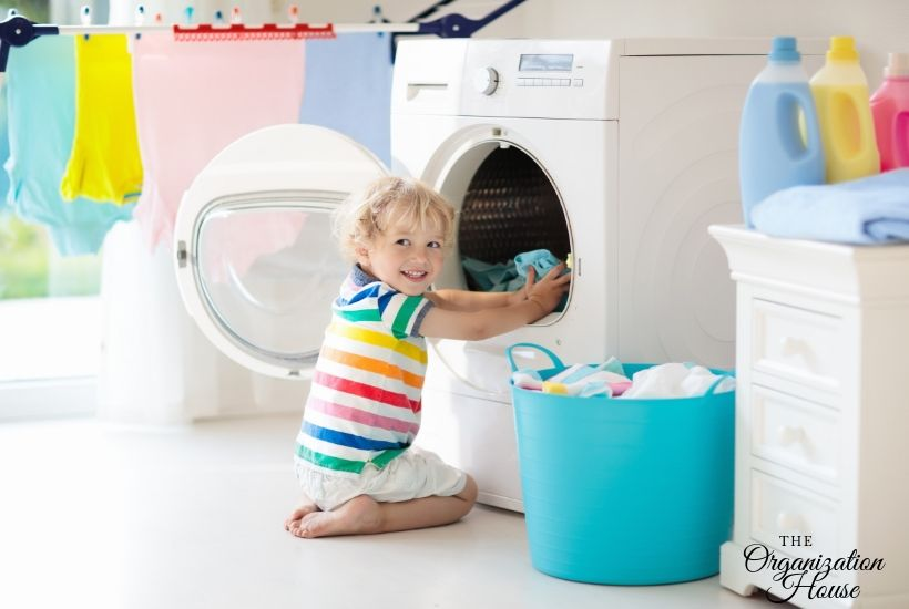 What Chores Can My Child Do? - TheOrganizationHouse.com