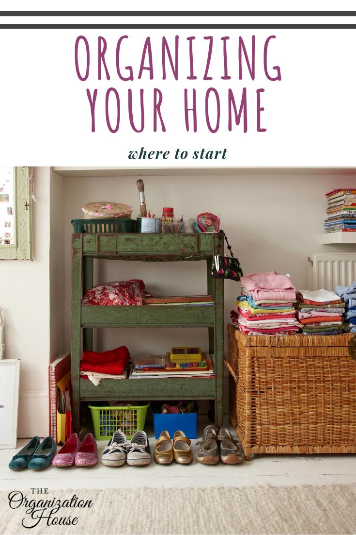 Organizing Your Home Where To Start Theorganizationhouse Com