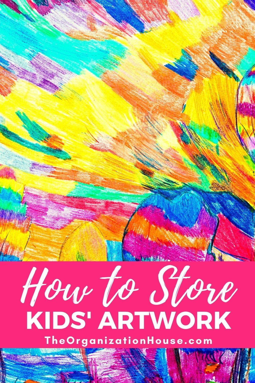 How to Store Children's Artwork