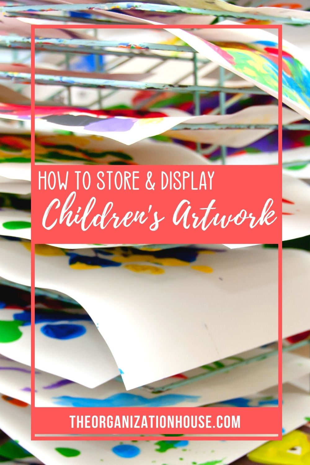How to Store and Display Children's Artwork