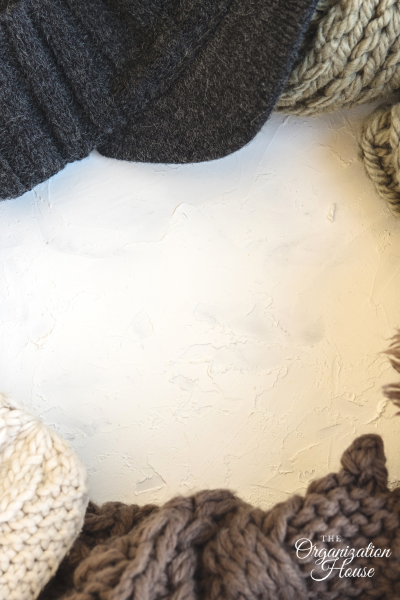 Organizing Winter Hats, Gloves, and Scarves